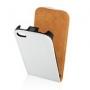 Slim Flip Case Nokia Lumia 620 white