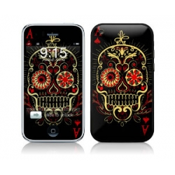 Skin Kits Cover Sticker Muerte for iPhone 3G