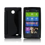 Silicone S-Line Nokia X black
